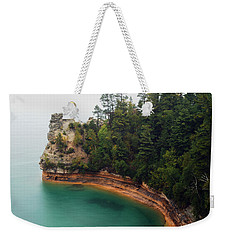 Castle Rock Weekender Tote Bag by Michael Peychich