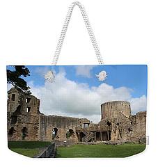 Castle Ruins Weekender Tote Bag