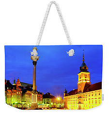 Weekender Tote Bag featuring the photograph Castle Square by Fabrizio Troiani