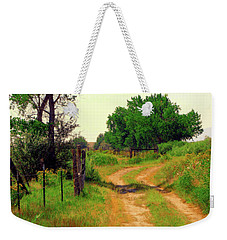 Castledale Farm Road Weekender Tote Bag