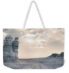 Weekender Tote Bag featuring the photograph Castles Of Wonder by Thomas Bomstad