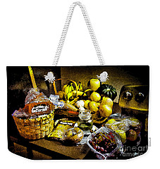 Weekender Tote Bag featuring the photograph Casual Affluence by Tom Cameron