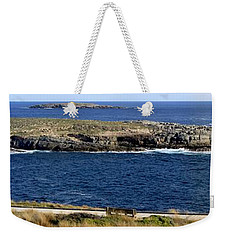 Weekender Tote Bag featuring the photograph Casuarina Islets by Stephen Mitchell