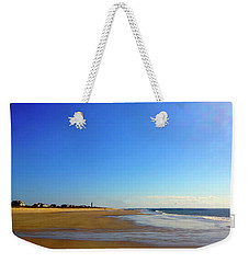 Caswell Beach Morning Weekender Tote Bag