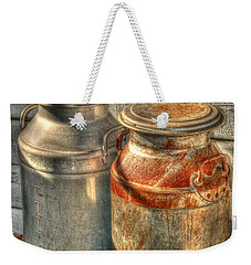 Cat And The Churns Weekender Tote Bag