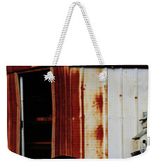 Cat And The Tool Shed Weekender Tote Bag by Kim Henderson