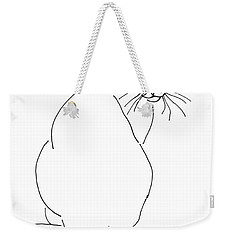 Cat-artwork-prints Weekender Tote Bag