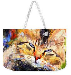 Cat Color Weekender Tote Bag