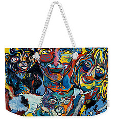 Cat Family Weekender Tote Bag