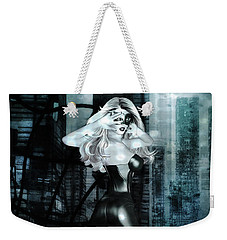 Cat Girl Comic Like Pinup Weekender Tote Bag