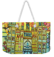 Cat-hedral Weekender Tote Bag