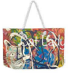 Cat Lady Weekender Tote Bag