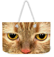 Cat Musya Weekender Tote Bag by Sergey Lukashin