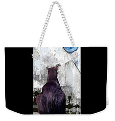 Cat's Blue Moon Weekender Tote Bag