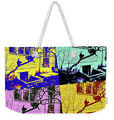 Cat Story Weekender Tote Bag by Tetyana Kokhanets