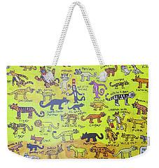 Cat Styles Weekender Tote Bag