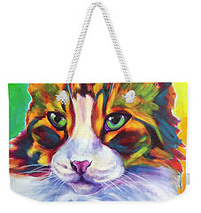 Cat - Tabby Weekender Tote Bag