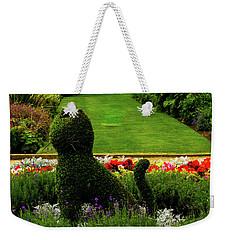 Cat Topiary Belfast Weekender Tote Bag