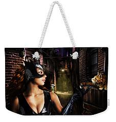 Cat Woman Weekender Tote Bag