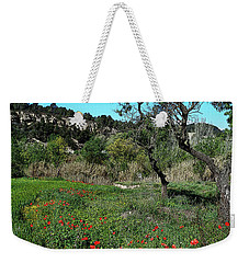 Catalan Countryside In Spring Weekender Tote Bag by Don Pedro De Gracia