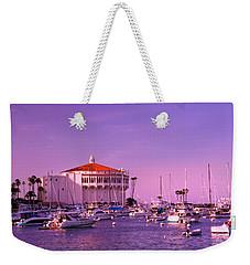 Catalina Casino Weekender Tote Bag by Marie Hicks