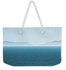 Catalina Island Large Panoramic Color Fine Art Print On Metal Weekender Tote Bag by Ben and Raisa Gertsberg
