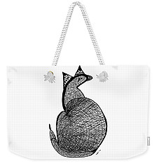 Catbird Abstract Rd101 Weekender Tote Bag