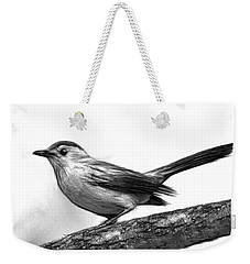 Catbird B And W Weekender Tote Bag