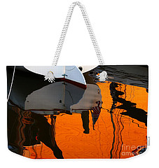 Catboat Reflection Weekender Tote Bag