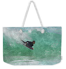 Catch A Wave Weekender Tote Bag