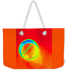 Heat Map Baseball Catch Me If You Can Weekender Tote Bag