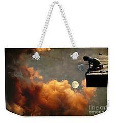 Catch The Moon Weekender Tote Bag