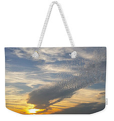 Catch The Morning Sun Weekender Tote Bag