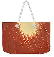 Catching Fire Weekender Tote Bag