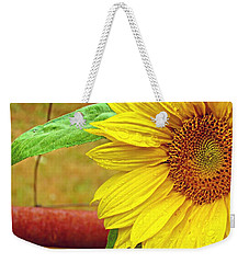 Catching Summer Rain Weekender Tote Bag by Katie Wing Vigil