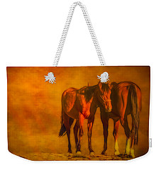 Catching The Last Sun Digital Painting Weekender Tote Bag