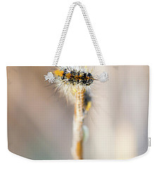 Caterpillar On The Stick Weekender Tote Bag