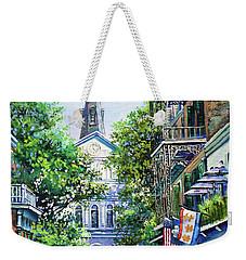 Cathedral At Orleans Weekender Tote Bag