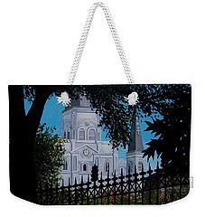 Cathedral At The Square Weekender Tote Bag