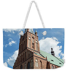 Cathedral Basilica Of St. James The Apostle, Szczecin A Weekender Tote Bag