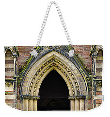 Cathedral Door Weekender Tote Bag