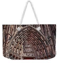 Cathedral Entance Weekender Tote Bag