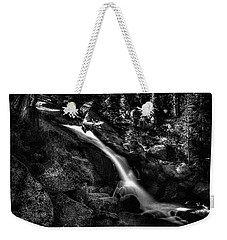 Cathedral Falls From The Tioga Pass Road Weekender Tote Bag
