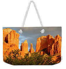 Cathedral Formation Weekender Tote Bag