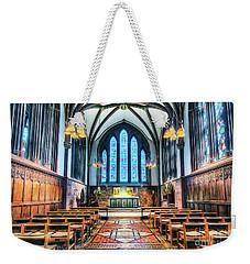 Cathedral Glow Weekender Tote Bag