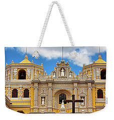 Cathedral In Antigua, Guatemala Weekender Tote Bag