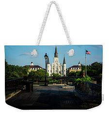 Cathedral Light Weekender Tote Bag
