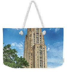 Cathedral Of Learning Weekender Tote Bag