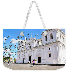 Cathedral Of Leon Weekender Tote Bag