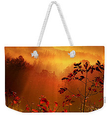Cathedral Of Light - Special Crop Weekender Tote Bag by Rob Blair